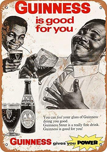 Sary buri 1968 Guinness Stout Beer Wandkunst Garage Club Bar Dekoration