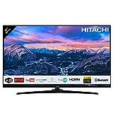 Téléviseur HITACHI de 32' (80,01cm) FHD/Smart TV: Netflix, Youtube, Prime Video, Internet, Facebook/WiFi/Bluetooth / 3 HDMI/VGA-PC/USB (Enregistreur TV + Lecteur Multimedia)