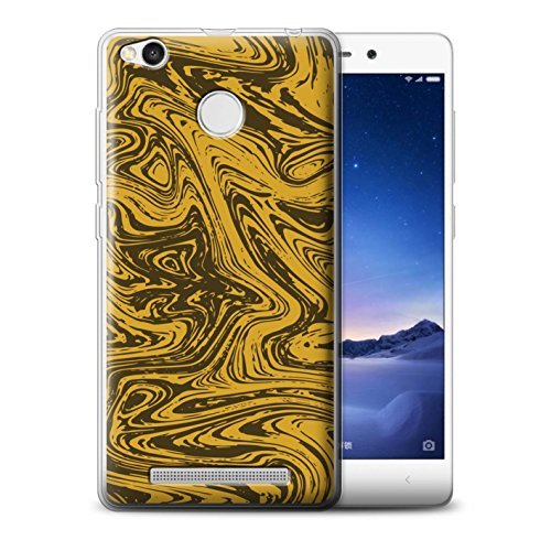 Stuff4MR-Phone Case/Cover/Skin/redmi3s-gc/Melted Liquid Metal Effect Collection gold (Geschmolzen, Metall)