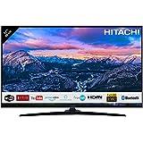"""Téléviseur HITACHI de 32"""" (80,01cm) FHD/Smart TV: Netflix, Youtube, Prime Video, Internet, Facebook/WiFi/Bluetooth / 3 HDMI/VGA-PC/USB (Enregistreur TV + Lecteur Multimedia)"""