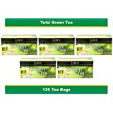 Green Tea with Tulsi (5 pack of 25 Tea Bag)