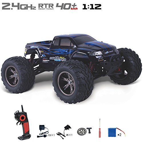 DoToy-High-speed-Off-Road-vehicle-Remote-RC-cars-112-Electric-Vehicle-2-pcs-battery-more-play-times