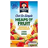 Quaker Oat So Simple Haufen Der Obst Banane & Erdbeere 8 x 35,5 g