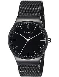 Fjord Analog Black Dial Men's Watch- FJ-3026-33