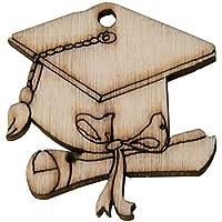 Amazon.it  laurea legno - Bomboniere   Articoli per feste e compleanni ... 6da0e26ee32e