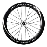 Shimano WH-9100 C60 Dura Ace Carbon Wheels Carbon Front 700C - Clincher 60 mm deep rim, QR axle