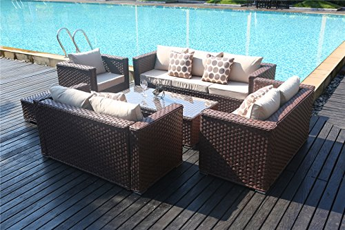 Garden Furniture 8 Seater Yakoe 50182 monaco 8 seater luxury rattan garden furniture wicker yakoe 50182 monaco 8 seater luxury rattan garden furniture workwithnaturefo