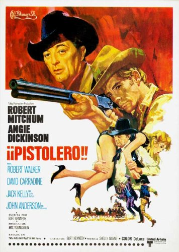 Young Billy Young Plakat Movie Poster (27 x 40 Inches - 69cm x 102cm) (1969) Spanish