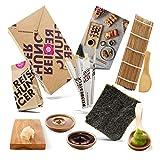 Reishunger Sushi Box, Komplett-Set zum Selbermachen mit Rezeptkarte. Original Japanische Zutaten - perfekt auch als Geschenk