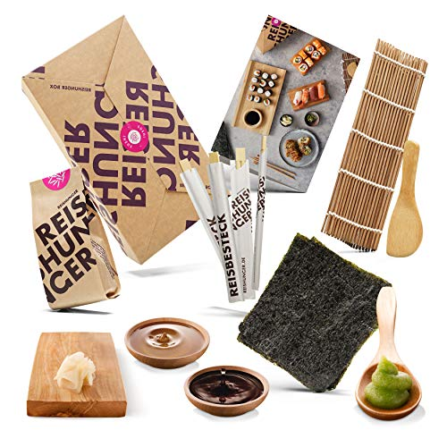 Reishunger Sushi Box - Komplett-Set mit Original Japanischen Zutaten