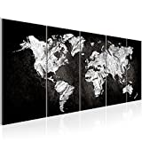 !!! SENSATIONSPREIS !!!! Bilder Weltkarte 200 x 80 cm | Vlies Leinwand WandBilder Weltkarte | Wand Bild Wandbild Kunstdruck Wanddeko Welt Karte World Map !!! 100% MADE IN GERMANY !!! 002955a