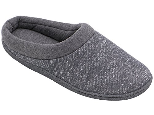 hometop-womens-comfort-slip-on-memory-foam-french-terry-lining-indoor-clog-house-slippers-6-75-uk-la