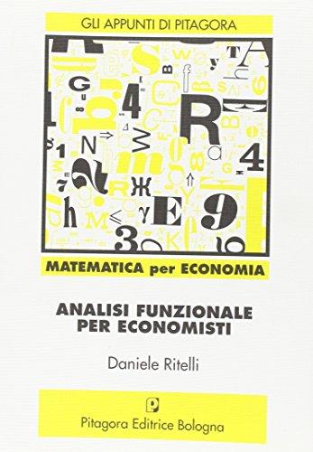 Analisi funzionale per economisti