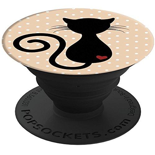 *PopSockets: Ausziehbarer Sockel und Griff für Smartphones und Tablets – Cat*