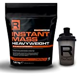 Reflex Nutrition Instant Mass Heavyweight 5.4kg,Best Weight Gainer Designed Specifically for Mass Gainer and all Athletes,Free Reflex Shaker (Chocolate perfection)