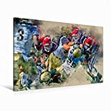 Leinwand American Football 120x80cm, Special-Edition