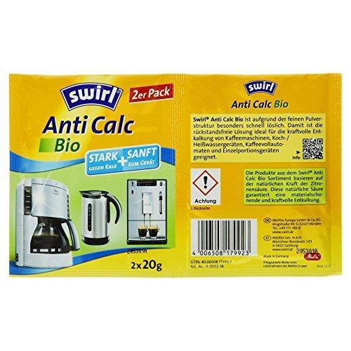 Swirl Citrus-Bio- Entkalker-intensiv, 2 Stück, 40g (Euro-swirl)