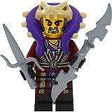 LEGO Ninjago Minifigur Master Chen Set 70595 incl. 2 GALAXYARMS Waffen