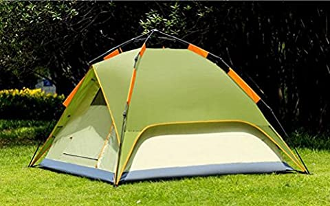 Automatic Camping Tent , 3-4 People,BEANSGREENDUAL