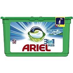 Ariel Lessive 3-en-1 Pods Alpine 38 Capsules