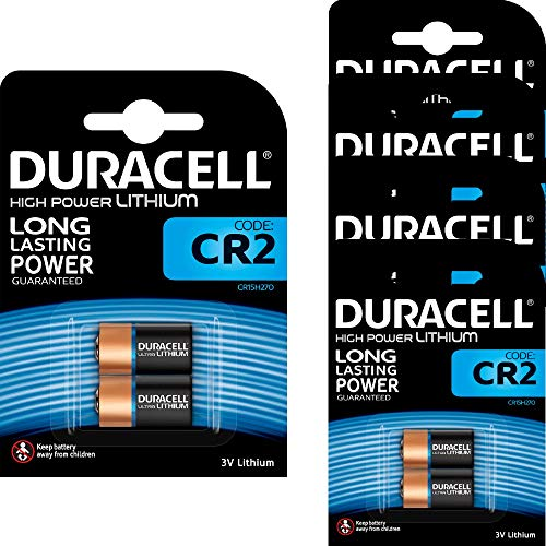 10 x Duracell High Power CR2 3V Lithium Photo Battery - DLCR2 - EL1CR2 - CR15H270 -