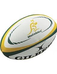 GILBERT Australien Internationale Kopie Mini Rugby Ball - translation, original, Weiß, Australien - Mini