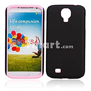 Frosted Silicone Case for Samsung i9500 Pink
