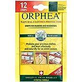 12 Tiras de repelente de polillas Orphea para cajones y armarios de Caraselle