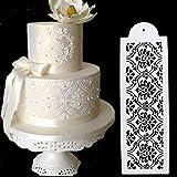 september-europe Hochzeit Geburtstag Kuchen dekorieren Bakery Werkzeuge, Fancy Fondant Vorlage Mould, Flower Edge Schablone Backen Werkzeug