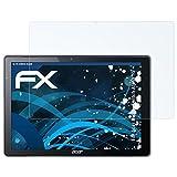 atFolix Panzerfolie für Acer Aspire Switch Alpha 12 Folie - 2 x FX-Shock-Clear stoßabsorbierende ultraklare Displayschutzfolie