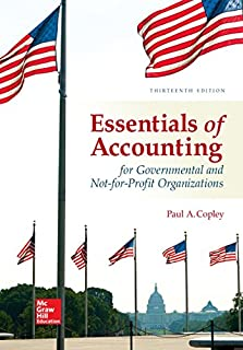 Essentials of Accounting for Governmental and Not-for-Profit Organizations (125974101X) | Amazon price tracker / tracking, Amazon price history charts, Amazon price watches, Amazon price drop alerts
