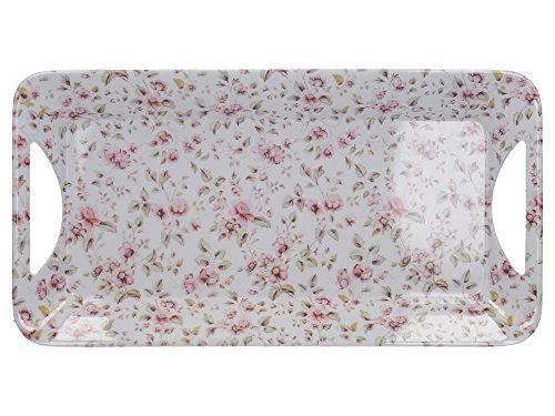 """Katie Alice """"Ditsy Floral"""" Small Melamine Serving Tray by Creative Tops"""
