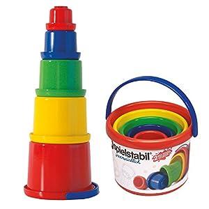 Spielstabil - Set 5 cubos para jugar con arena