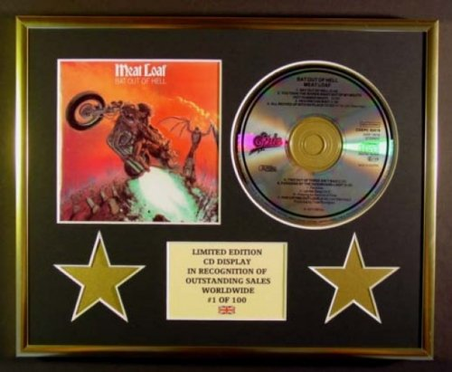 MEAT LOAF/CD DISPLAY/LIMITED EDITION/BAT OUT OF HELL