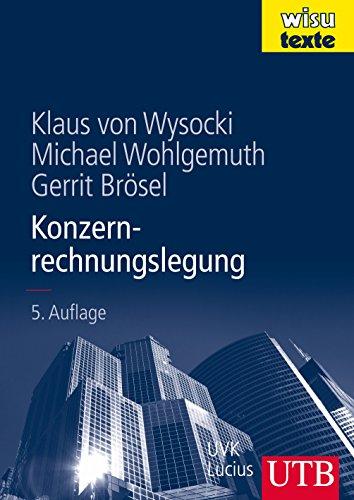 Konzernrechnungslegung (wisu-texte, Band 8558)