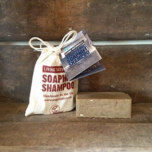 Ayurvedic Soapnut Solid Shampoo Bar - SLS Free natural Soap