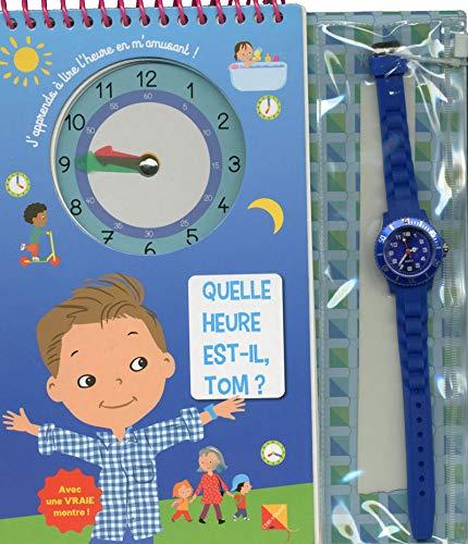 Quelle heure est-il, Tom ? par Marie-helene Gregoire
