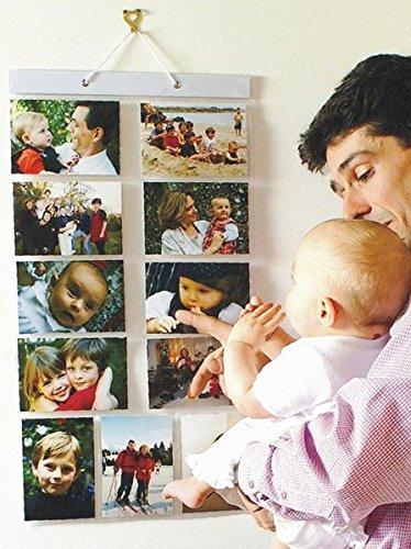 Picture Pockets Tamaño Grande De Fotos G, Galería De Fotos Colgantes, 11 Bolsillos Reversibles De Fotos De 5x7