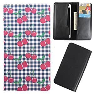 DooDa - For Micromax Canvas Play Q355 PU Leather Designer Fashionable Fancy Case Cover Pouch With Card & Cash Slots & Smooth Inner Velvet