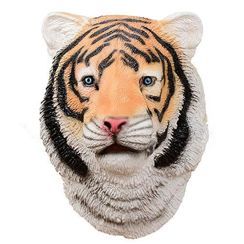 Unbekannt Halloween-Maske Kostüm Party Tierkopf Latex Masken Tiger