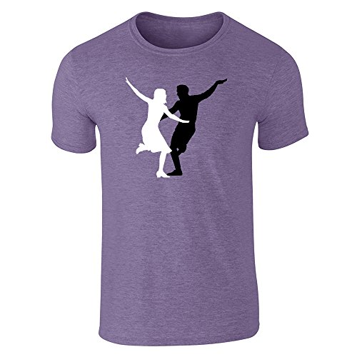 Pop Threads -  T-shirt - Uomo Heather Purple