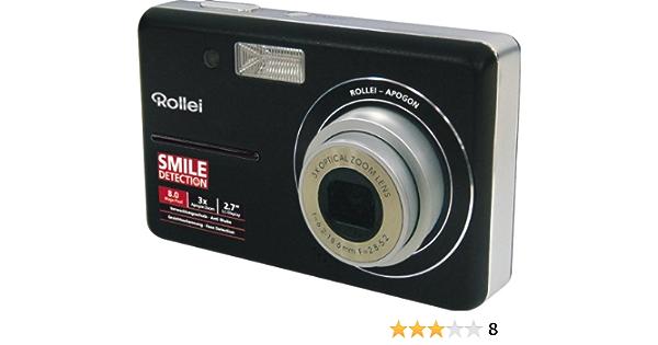 Rollei X 8 Digitalkamera 2 7 Zoll Schwarz Kamera
