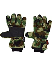 Heat Machine Gloves Mens Camo Thinsulate Thermal Gloves