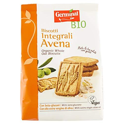 Germinal Bio Biscotti Integrali Avena 2 pezzi da 300 g