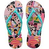 Havaianas Slim Disney Cool Shocking Pink/Lake Green - Flip Flops