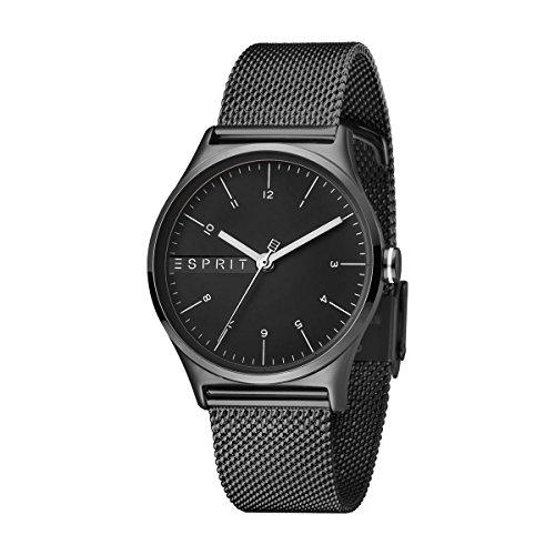 Esprit Damen Analog Quarz Uhr mit Edelstahl Armband ES1L034M0095