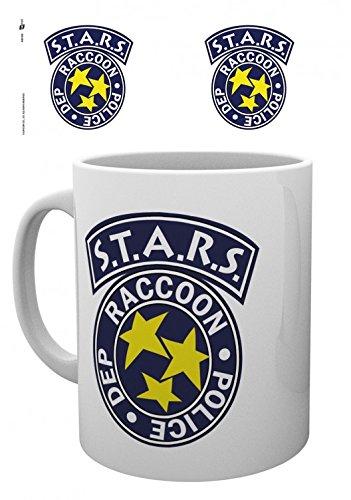 1art1 Set: Resident Evil, S.t.a.r.s, Raccoon Police Dep. Foto-Tasse Kaffeetasse (9x8 cm) Inklusive...