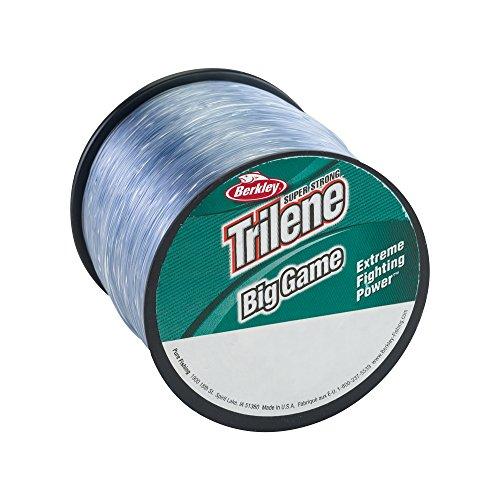 Berkley Trilene Big Game Monofilament Custom Spule, stahlblau, 12 Pound Test-1175 Yard -
