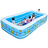 ZHAORU-Badewanne Kinder Übergroßen Wasserpark Baby Pool Home Baby aufblasbaren Erwachsenen Verdickte Familie Kinder Pool Blau Dicken Boden (Größe : 260cm)