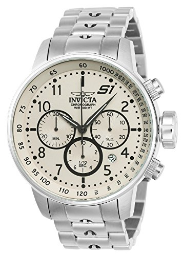 invicta-s1-rally-mens-quartz-watch-with-ivory-dial-chronograph-display-and-silver-stainless-steel-br